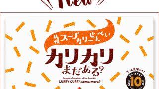 『札幌スープカリーせんべい カリカリまだある?』リニューアル新発売!